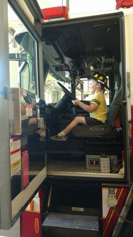 Gray-driving-fire-engine-age-4
